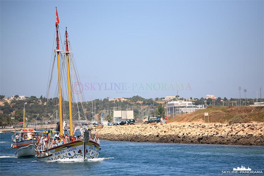 Portugal Algarve - Ausflugsboot Lagos