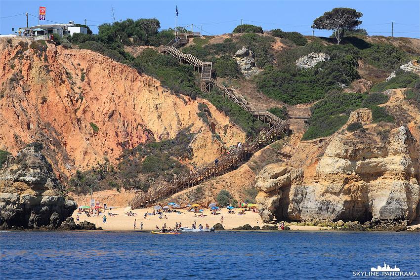 Portugal Algarve Badebucht von Lagos