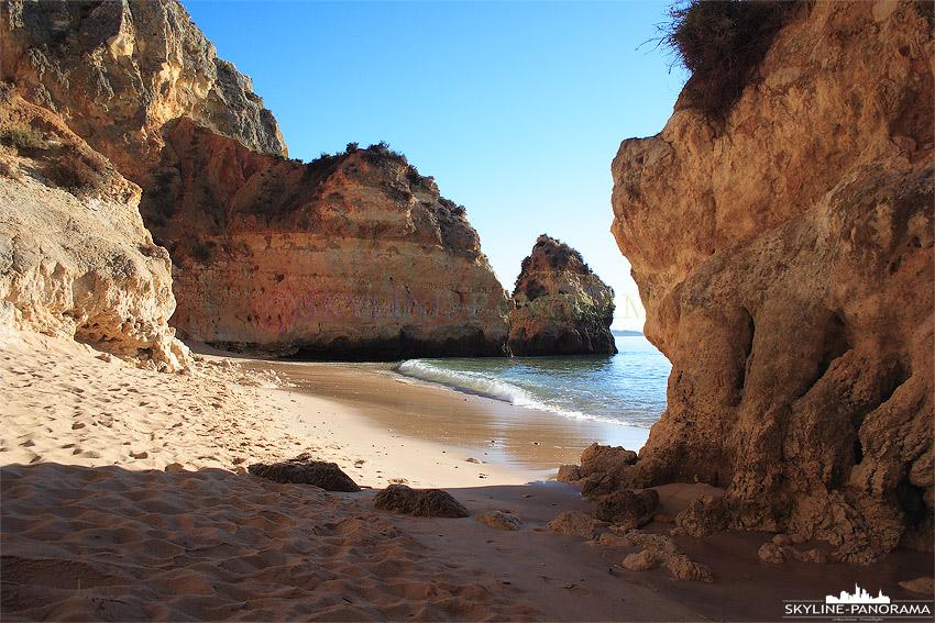 Portugal Algarve Strand von Lagos