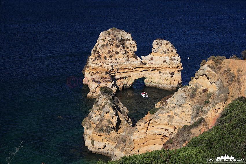 Portugal Algarve Felsen bei Lagos
