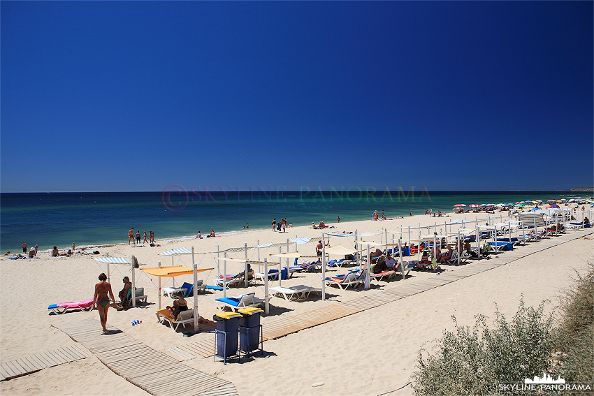 Portugal Algarve Strand bei Burgau