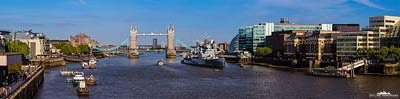 Panorama - London Bridge View