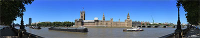 Panorama Westminster Palace London