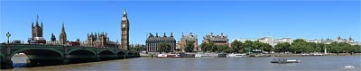 London Panorama - Westminster