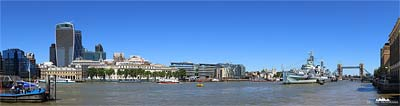 London Panorama - Themseufer