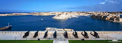 Saluting Battery - Valletta Malta