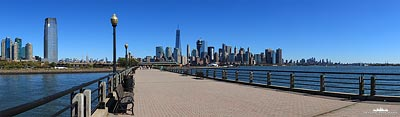 New York vom Liberty State Park