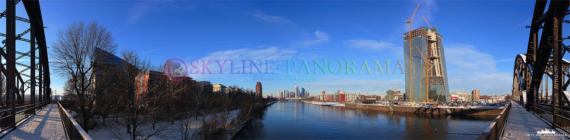 verschneite Skyline