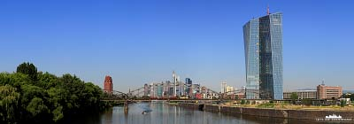 EZB  - Skyline Frankfurt am Main