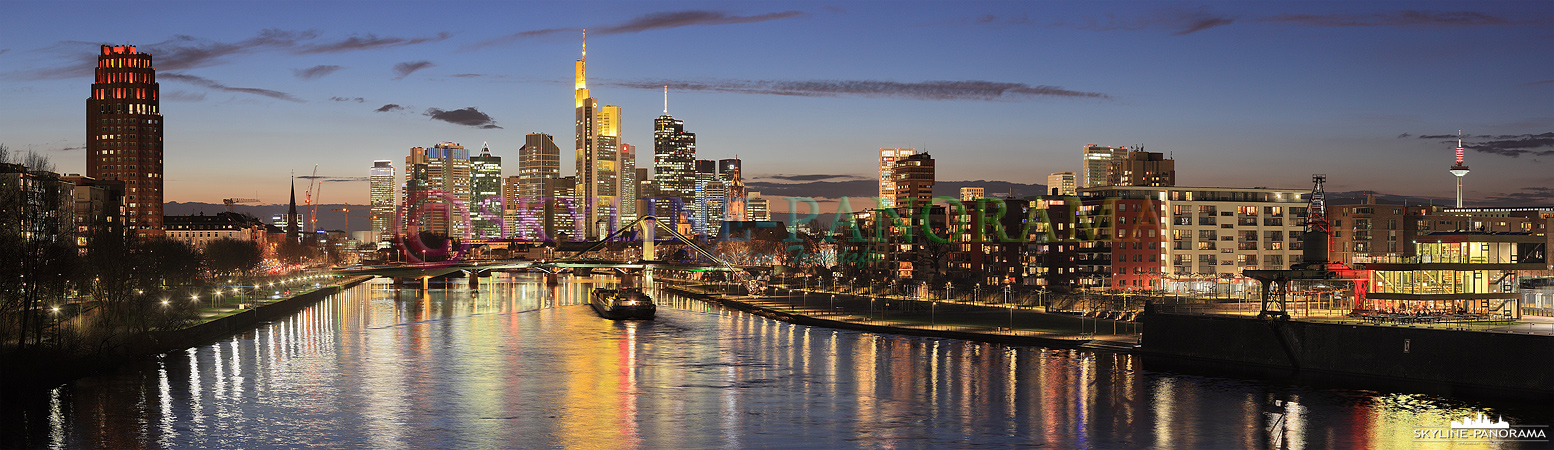 frankfurt am main skyline blick p 00659 skyline. Black Bedroom Furniture Sets. Home Design Ideas