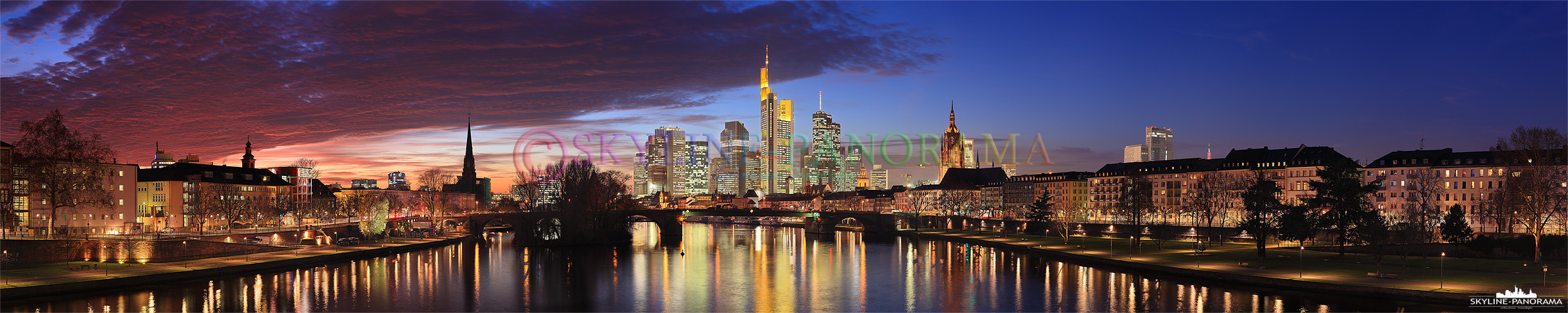 Frankfurt Skyline Ansicht