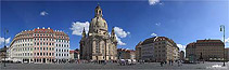 Dresden Neumarkt mit Frauenkirche