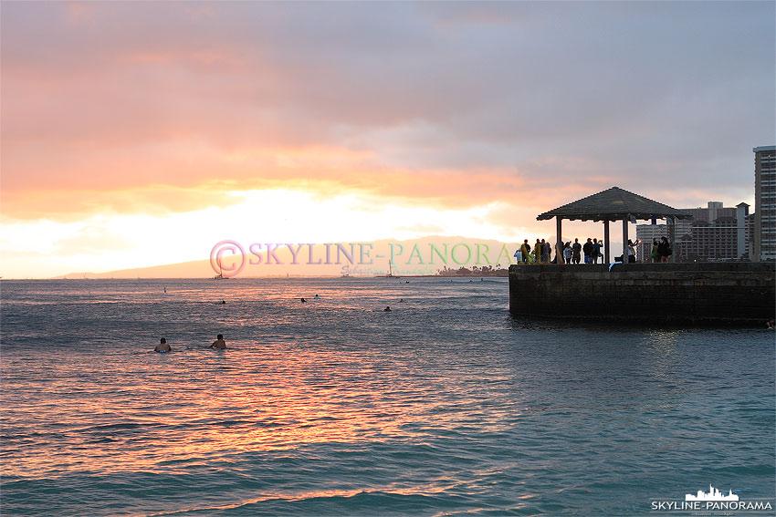 hawaii sunset aussichtspunkt