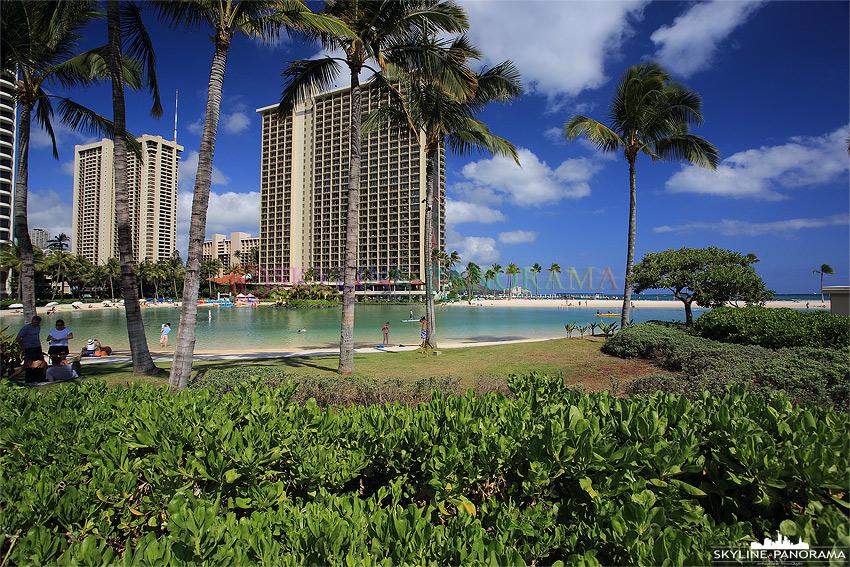 hawaii Hilton Lagoon