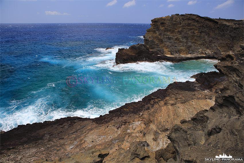 Küste von Oahu