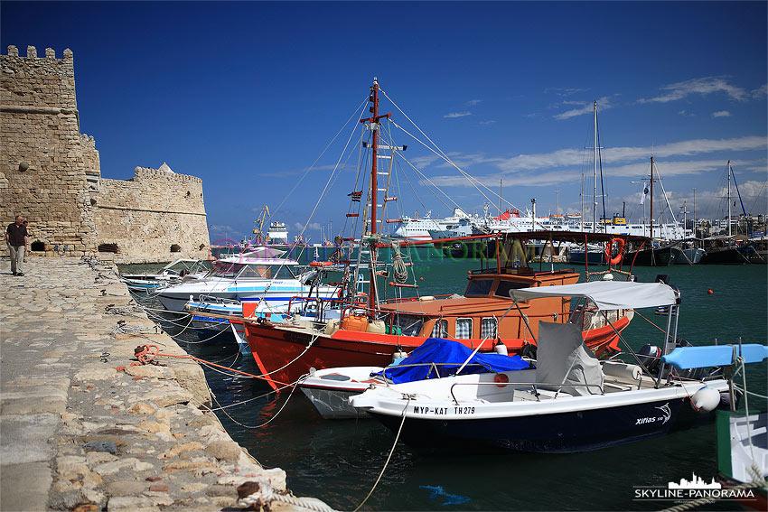 Hafen von Heraklion Kreta