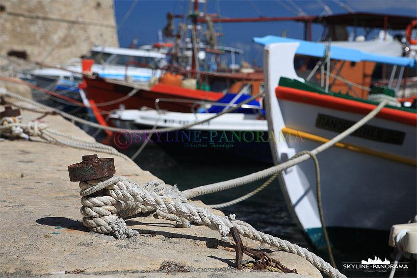 Hafen von Heraklion Kreta Detailansicht