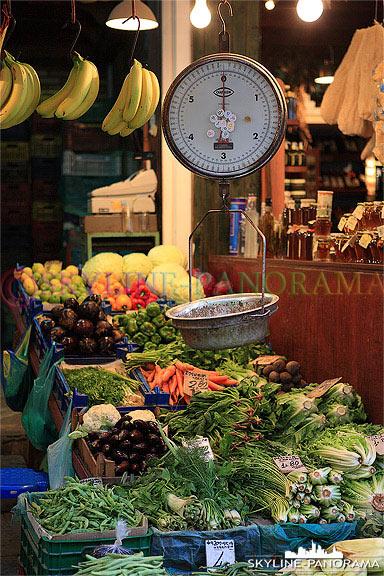 Gemuesemarkt Heraklion Kreta