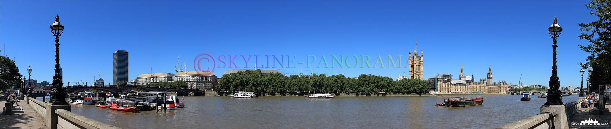 Panorama London - Themseufer