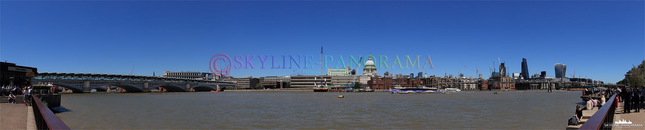 Themse - London Panorama