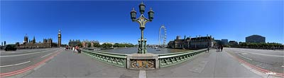 London Panorama - Westminster Bridge