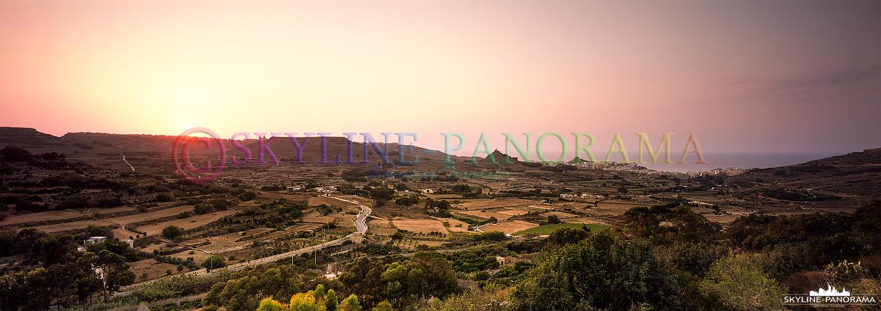 Sunset Landscape - Gozo