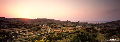 Sunset Landscape - Gozo