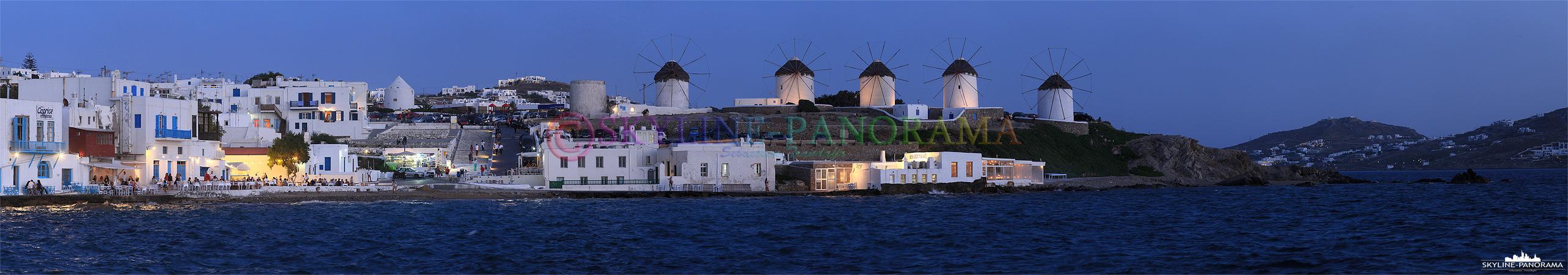 Windmühlen von Mykonos