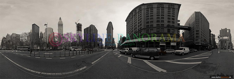 Panorama Flatiron Building