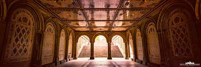 Bethesda-Terrace Central Park - Panorama