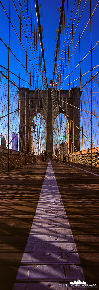 Brooklyn Bridge vertical