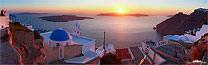 schöne Bilder Santorini Sonnenuntergang