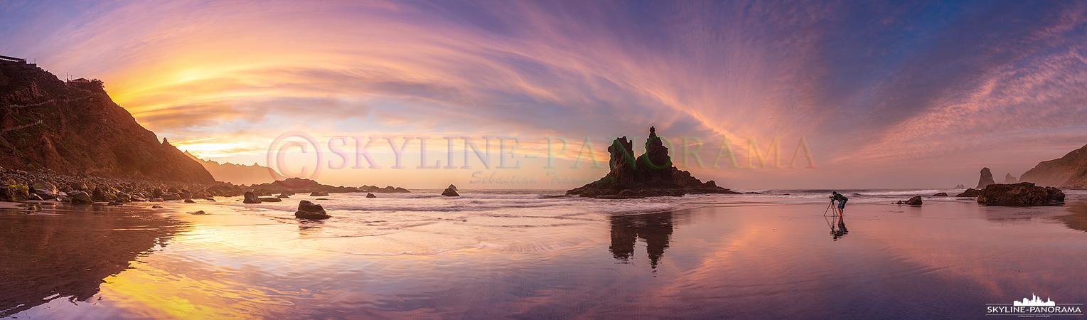Playa de Benijo - Sunset