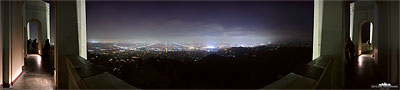Los Angeles Skyline Griffith Observatory