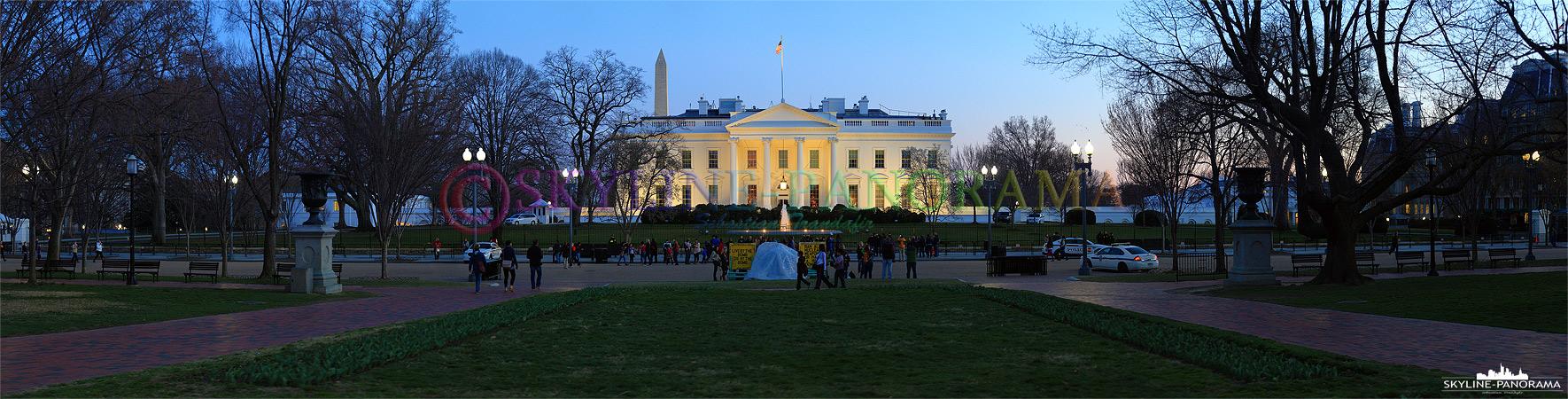Washington D.C. - White House Panorama