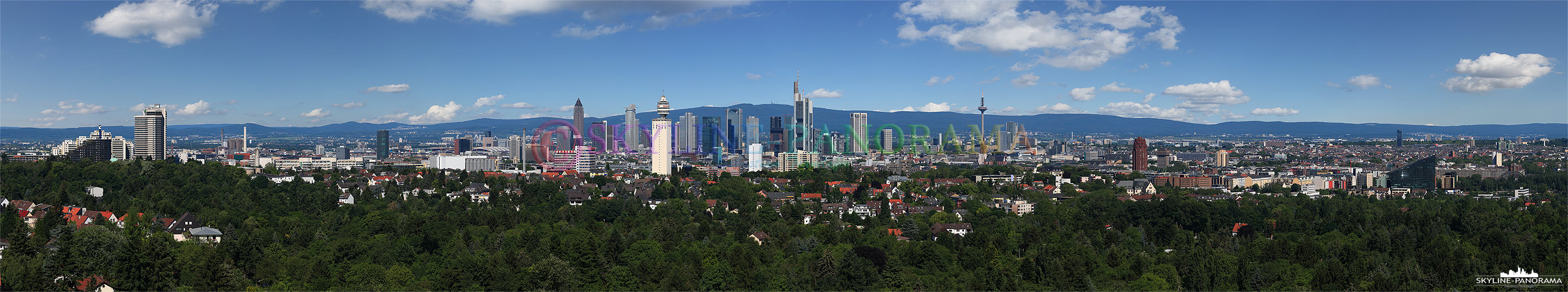 Frankfurt vom Goetheturm