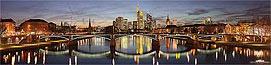 Skyline Frankfurt - Panorama Bild