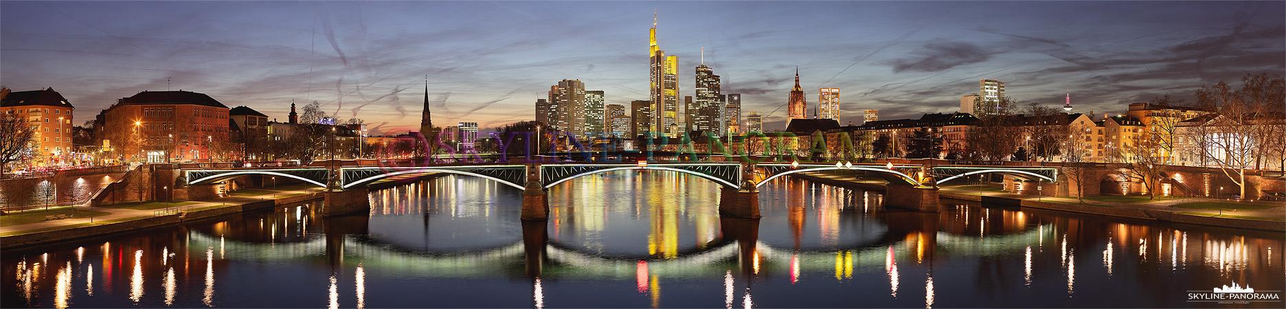 Frankfurt Skyline P 00463 Skyline Panorama De