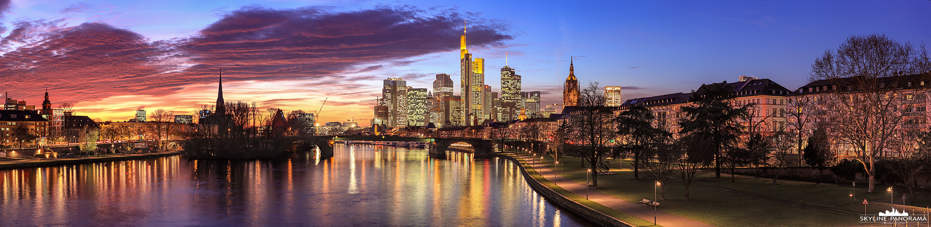 Skyline Bild Frankfurt