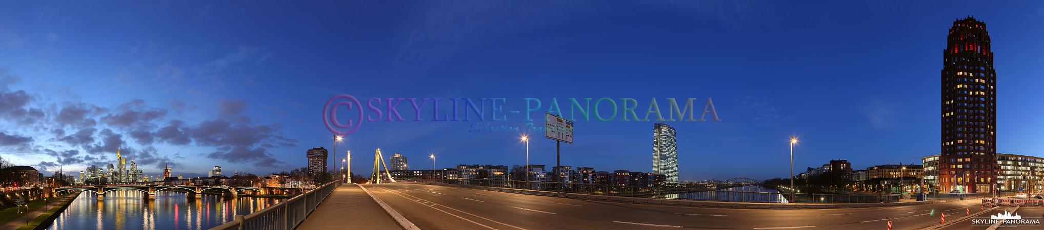 Skyline EZB und Main Plaza