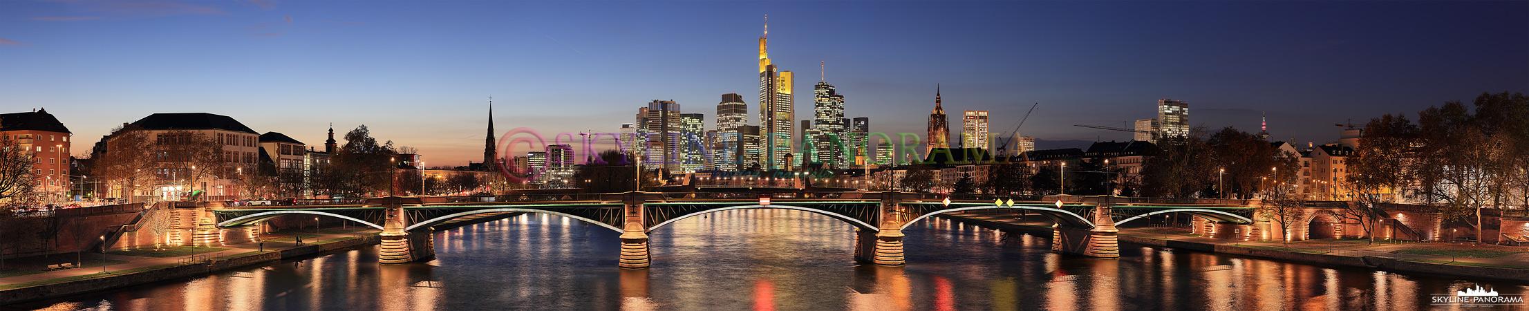 Frankfurter Skyline - Aussichtspunkt