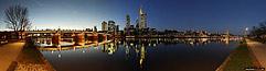 Skyline Panorama Frankfurt