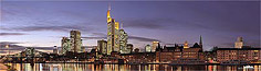 Panorama Bild Frankfurt am Main