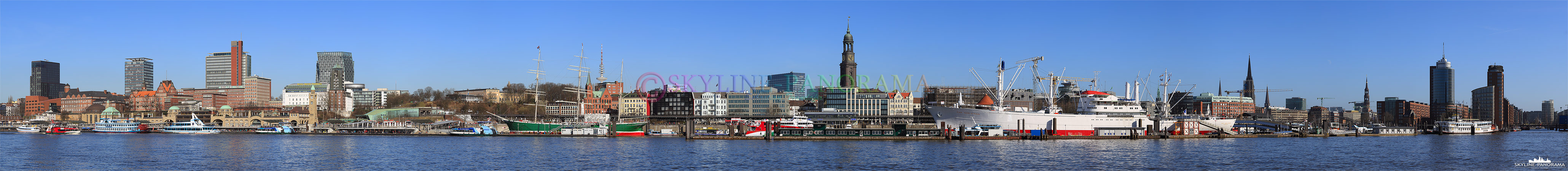 Skyline Hamburg am Tag