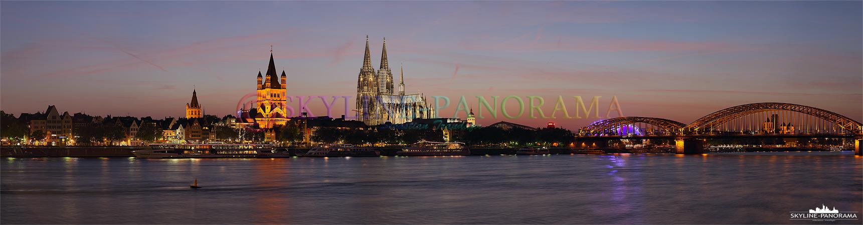 Köln Abendrot