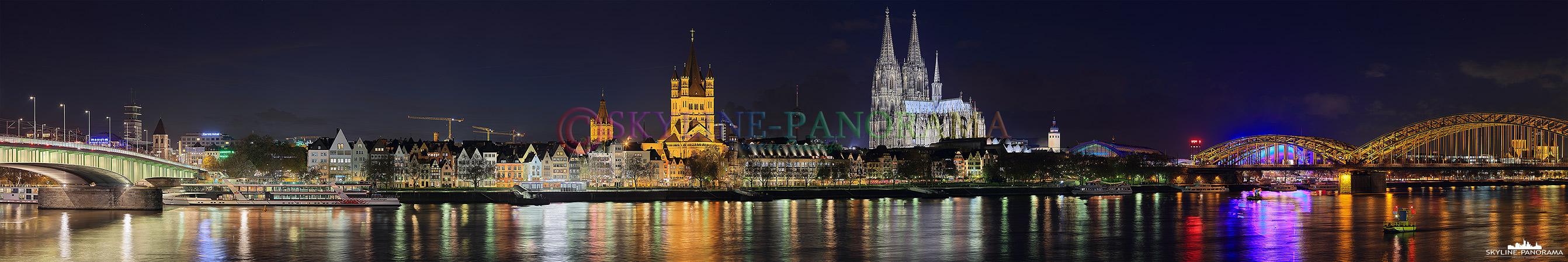 Rheinpanorama von Köln