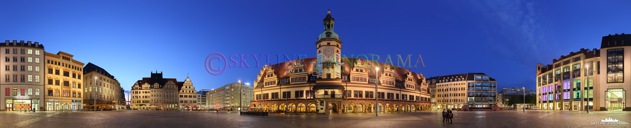 Bild Leipzig Marktplatz