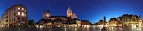 Mainzer Dom - Marktplatz Panorama