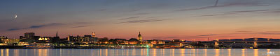 Panorama Mainz Germany