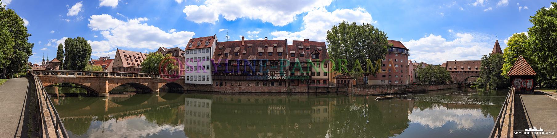 Altstadt Panorama an der Pegnitz